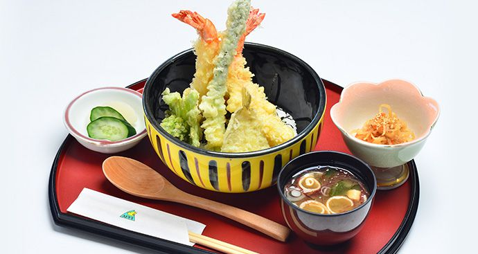 BIG PRAWN TEMPURA BOWL