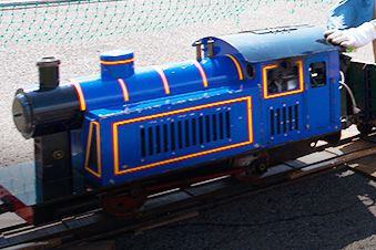 MINI STEAM LOCOMOTIVE