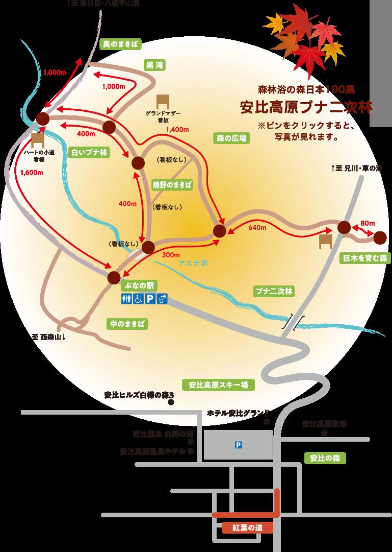 紅葉Map